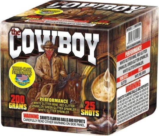 World Class The Cowboy - Case 12/1