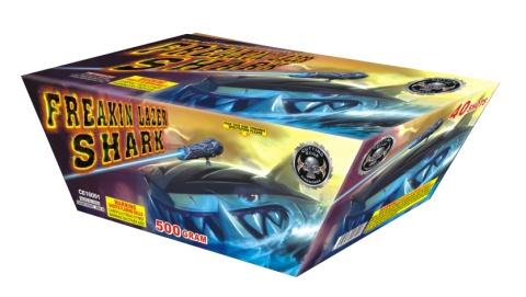Freaking Lazer Shark - Case 2/1