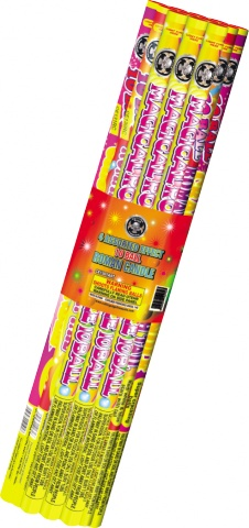 Roman Candle Assorted  American Pack, CE - Case 12/12