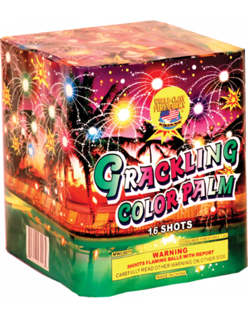World Class Crackling Color Palm