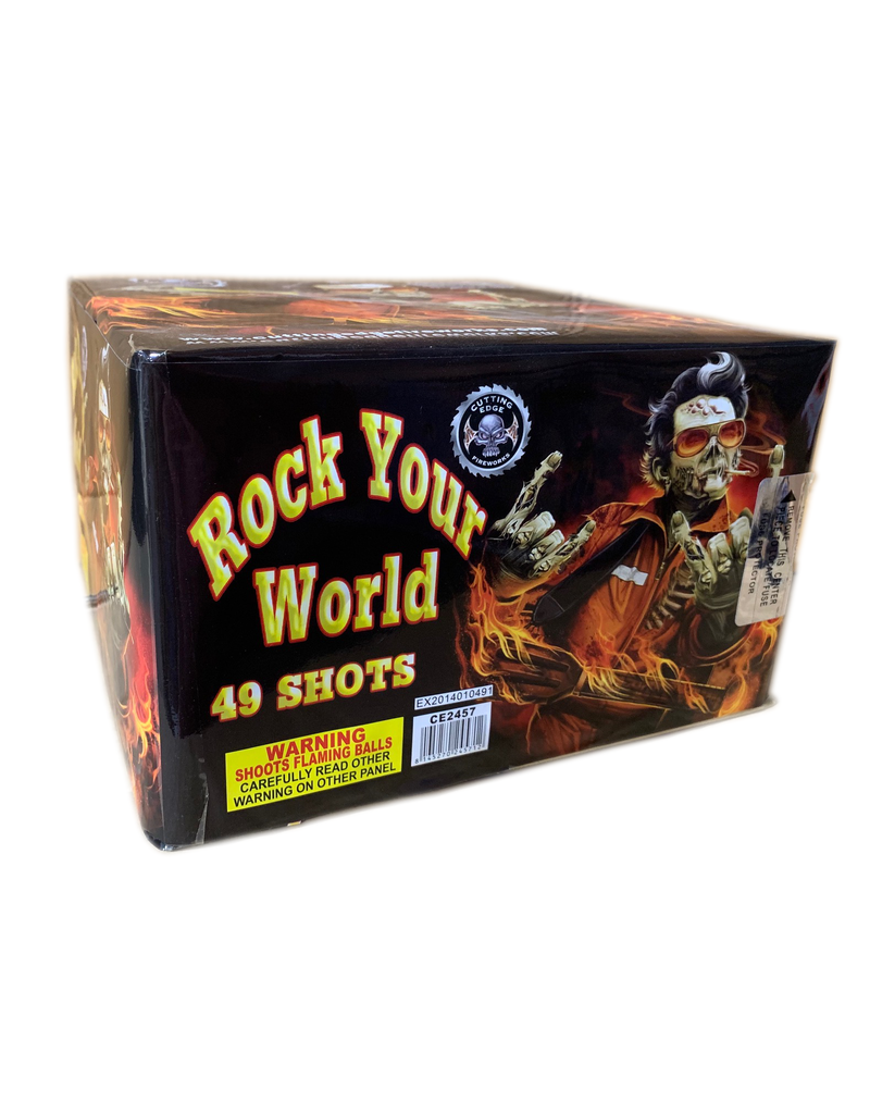 Cutting Edge Rock Your World