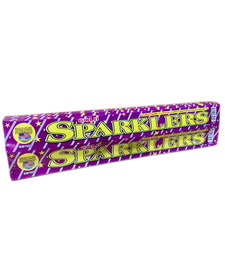 "Gold Sparklers 14"", WC - Pack 6/6"