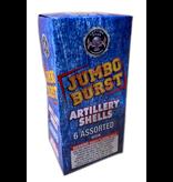 Cutting Edge Jumbo Burst Artillery Shell - Case 12/6
