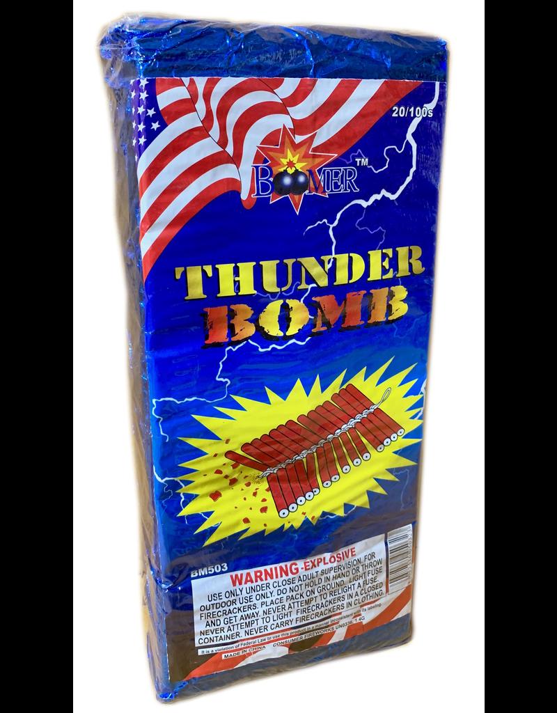 Boomer Firecracker 100s, BM - Brick 20/100