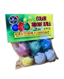 Color Smoke Ball (clay), CE - Case 20/12/6