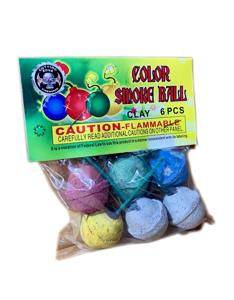 Cutting Edge Color Smoke Ball (clay), CE - Case 20/12/6