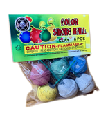 Cutting Edge Color Smoke Ball (clay), CE - Box 12/6