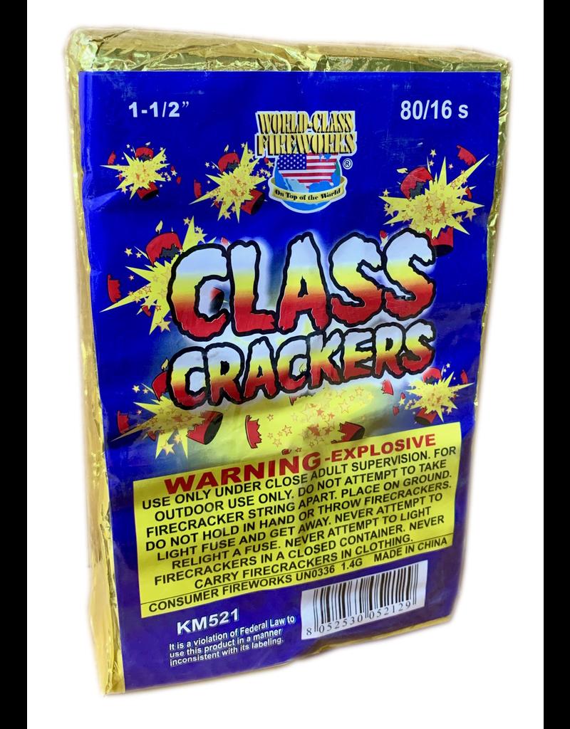World Class Firecracker 16s, WC - Brick 80/16