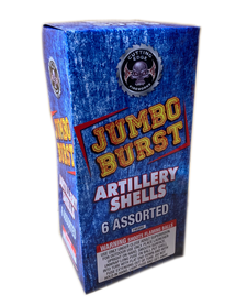 Jumbo Burst Artillery Shell - Box 6/1