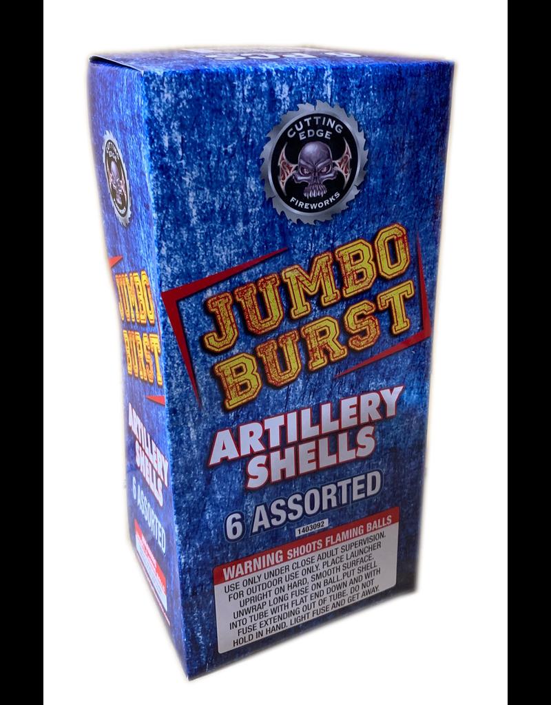 Cutting Edge Jumbo Burst Artillery Shell - 6 shells