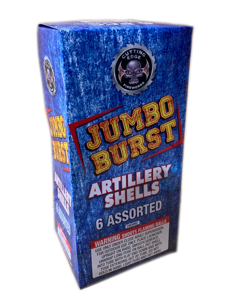 Cutting Edge Jumbo Burst Artillery Shell - Box 6/1