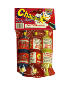 Champagne Party Popper, WC - Pack 6/1