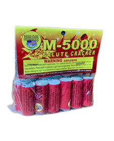 M-5000 Salute Cracker, WC - Box 12/1