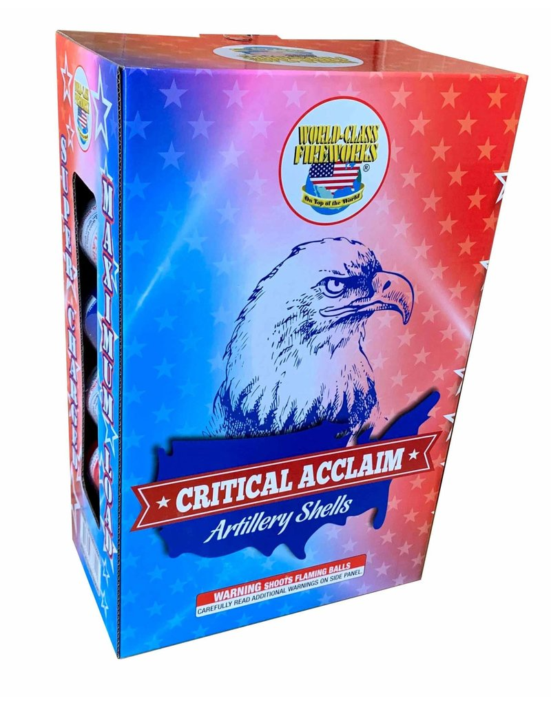 World Class Critical Acclaim - Case 8/8