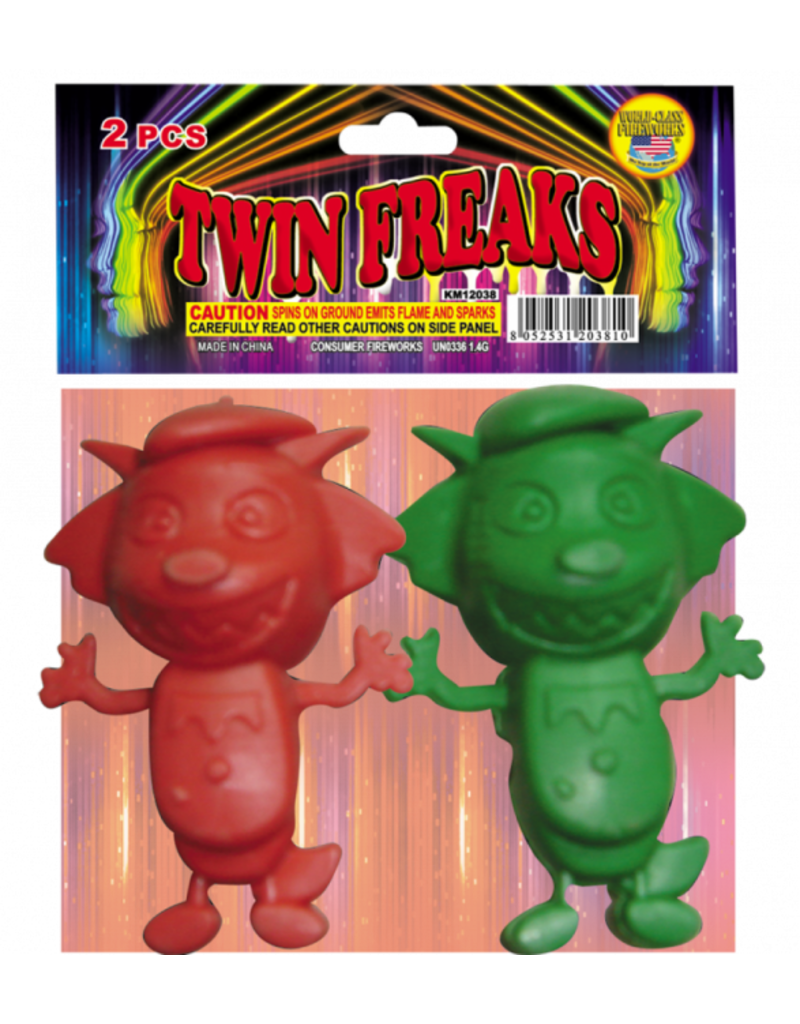 World Class Twin Freaks - Pack 2/1