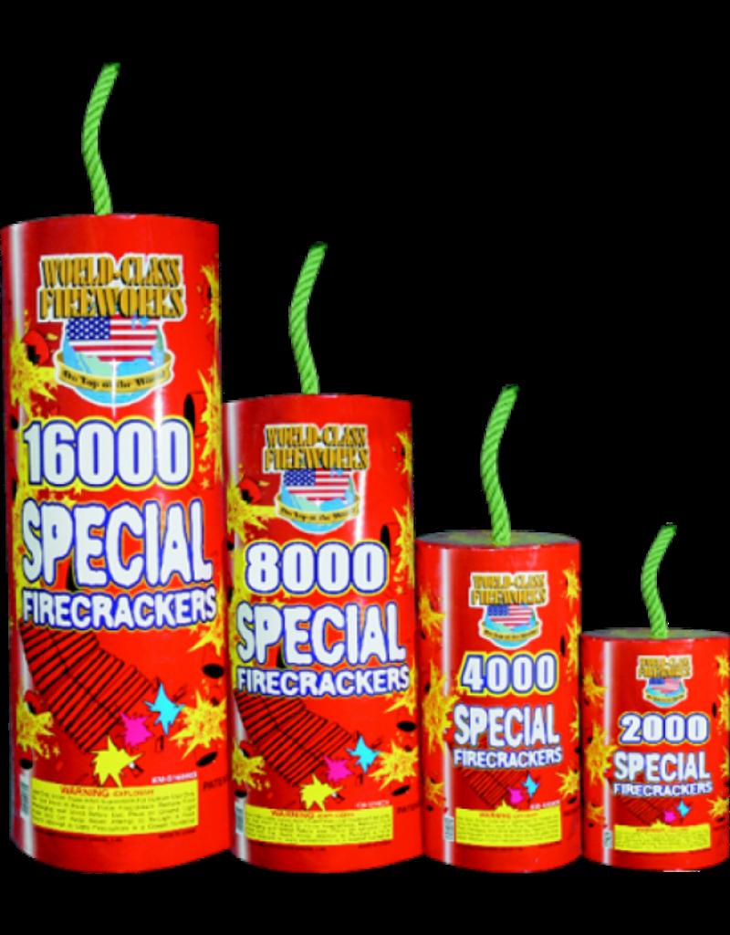 World Class Firecracker 4000s, WC - Case 4/4000