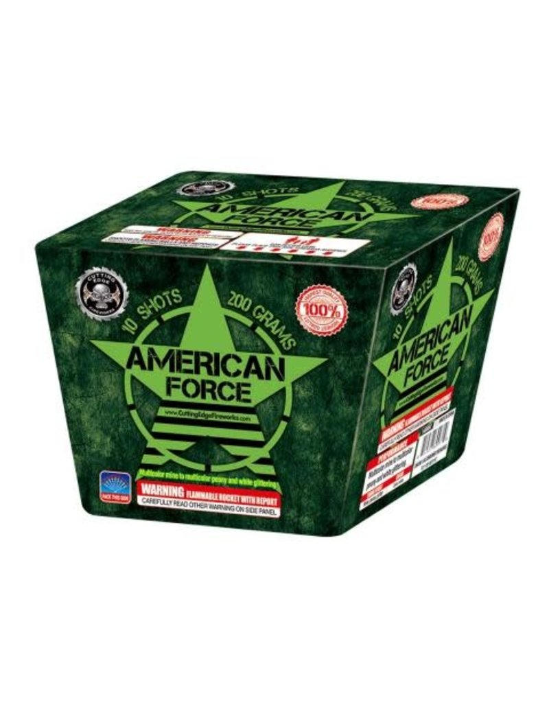 Cutting Edge American Force - Case 6/1