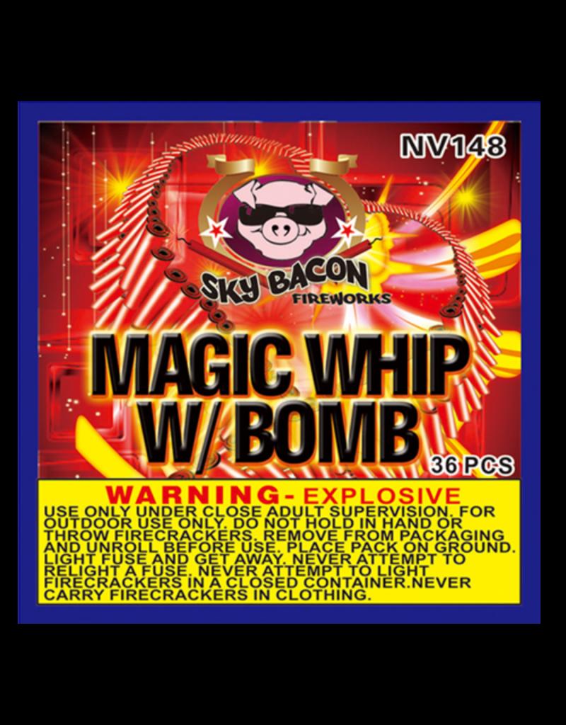 Sky Bacon Magic Whip with Boom