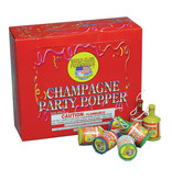World Class Champagne Party Poppers 72 pcs - Case 20/72