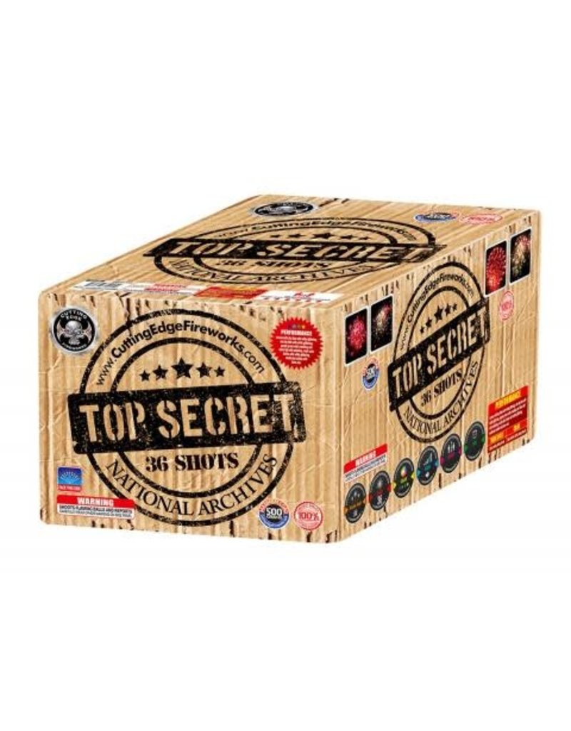 Cutting Edge Top Secret - Case 4/1