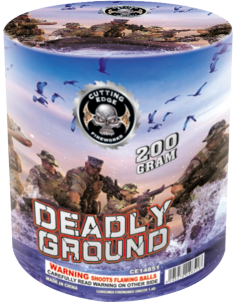Cutting Edge Deadly Ground - Case 8/1