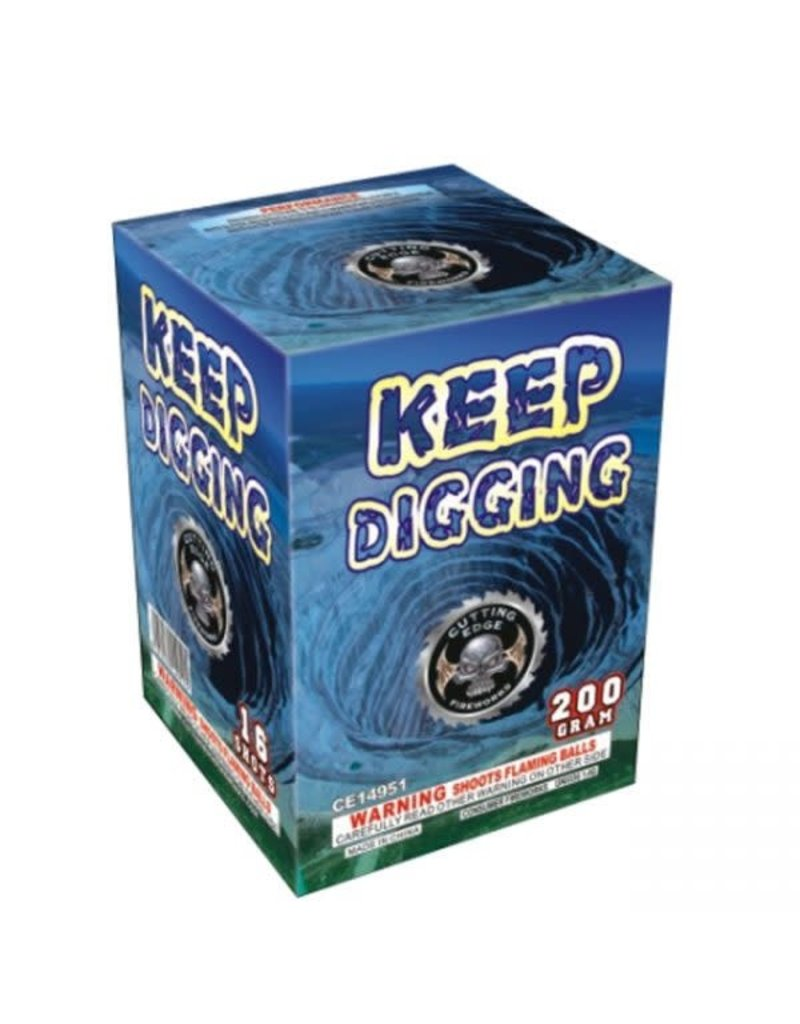 Cutting Edge Keep Digging - Case 16/1
