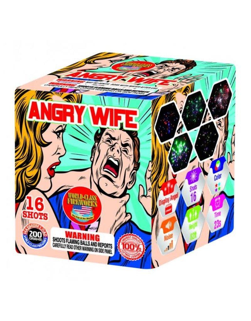 World Class Angry Wife