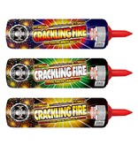 Cutting Edge Crackling Fire Candle