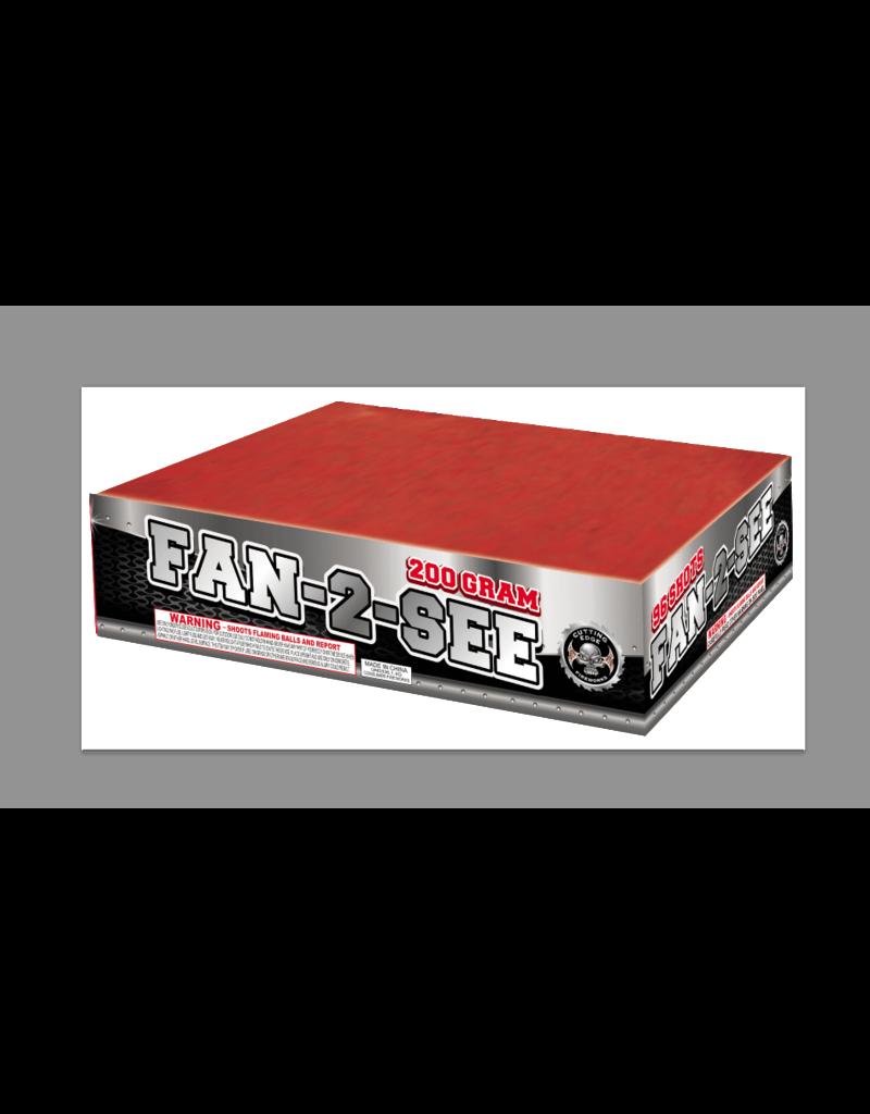 Cutting Edge Fan 2 See - Case 12/1
