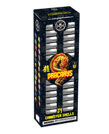 Dracarys Neon 60 Gram 4in Canister - 24 Shells