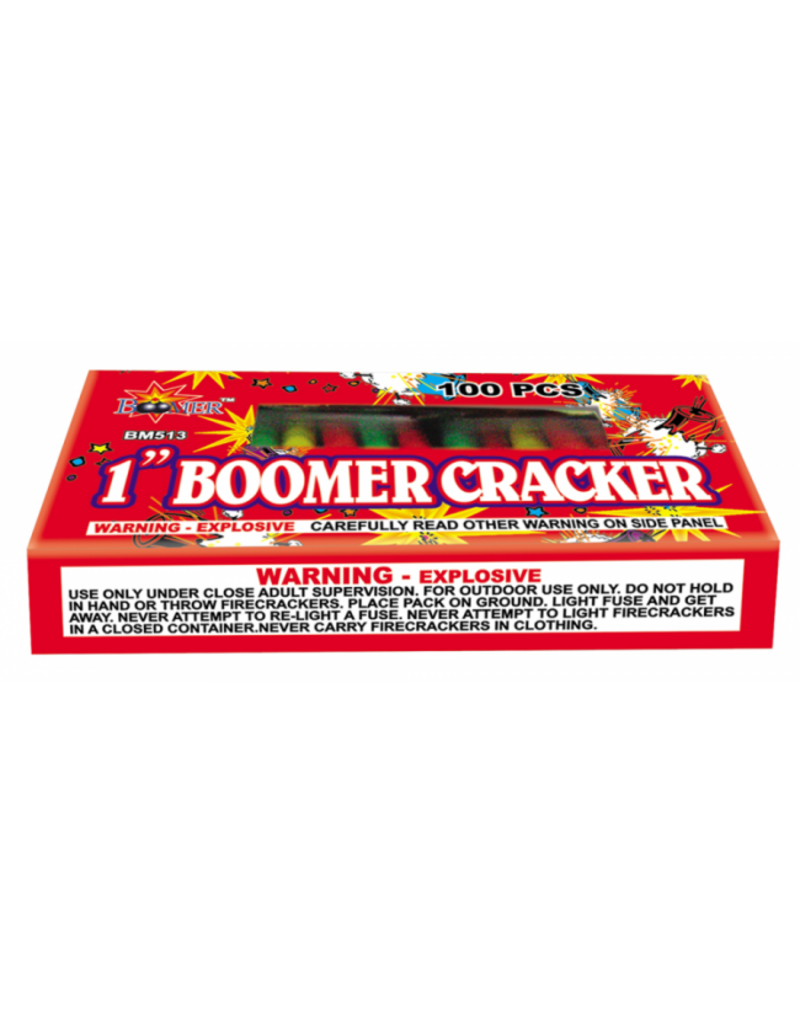 Boomer 1in Boomer Cracker - Box 100/1
