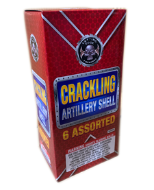 Crackling Artillery Shell (Ball Canister) - Box 6/1