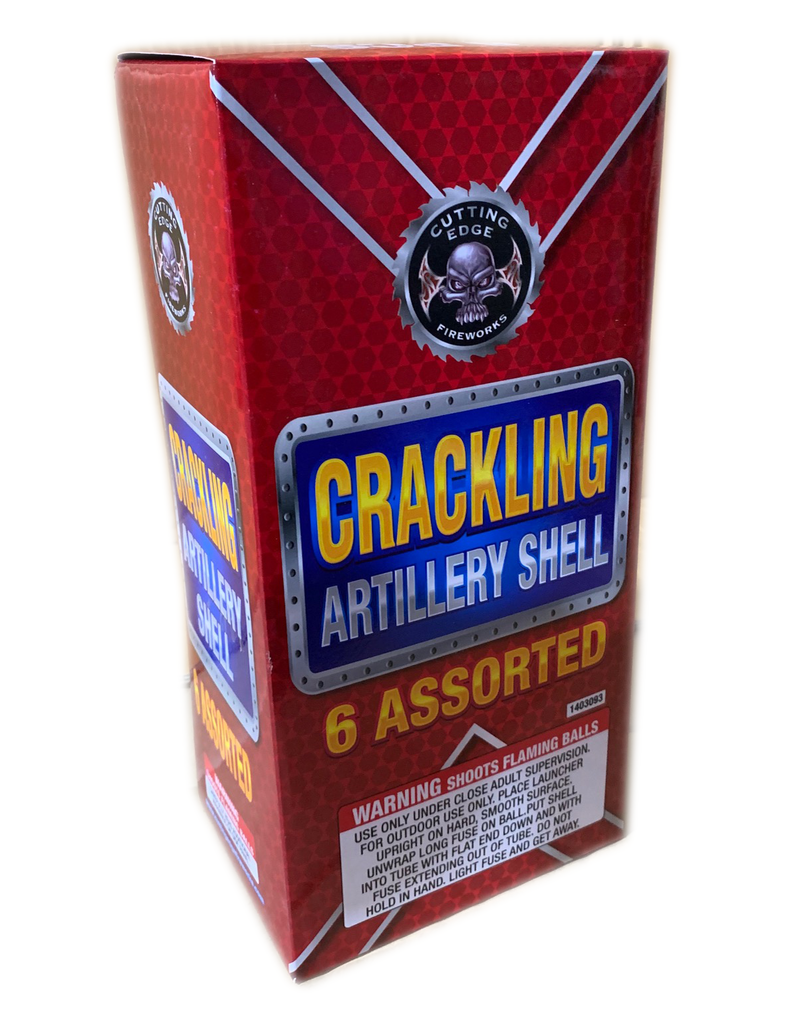 Cutting Edge Crackling Artillery Shell (Ball Canister) - Box 6/1
