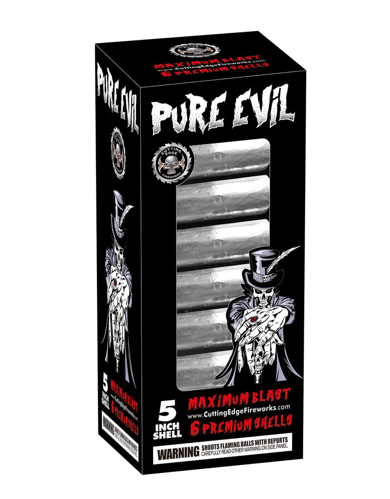 Cutting Edge Pure Evil 60 Gram 5in Canister - 6 Shells
