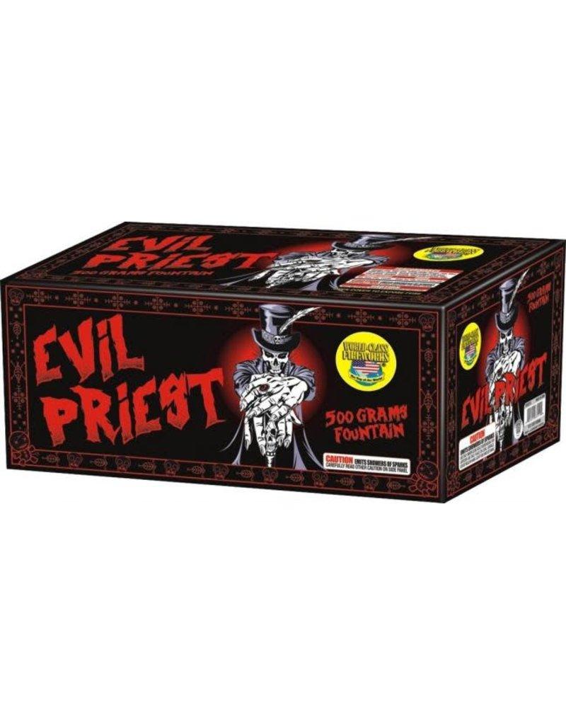 World Class Evil Priest Fountain