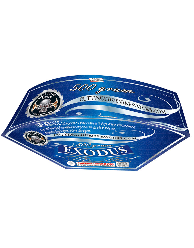 Cutting Edge Exodus - Case 4/1