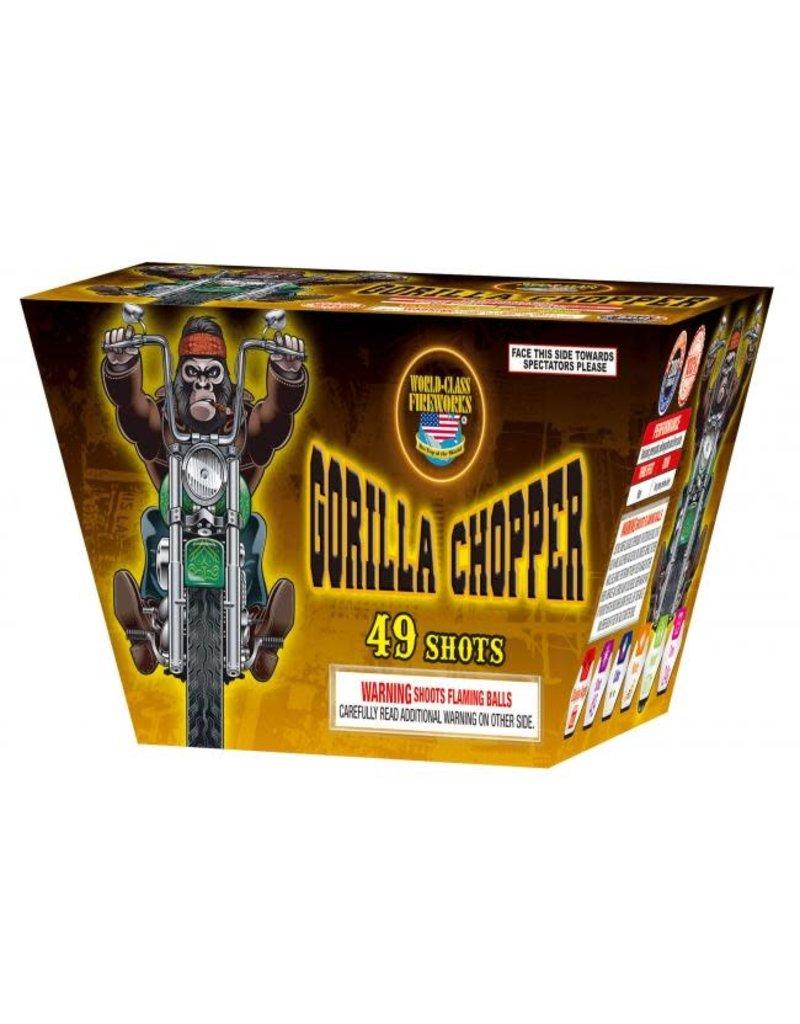 World Class Gorilla Chopper - Case 16/1