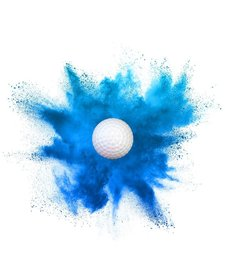 Gender Reveal Golfball - Pack 2/1
