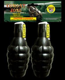 Combat Zone Grenade - Pack 2/1