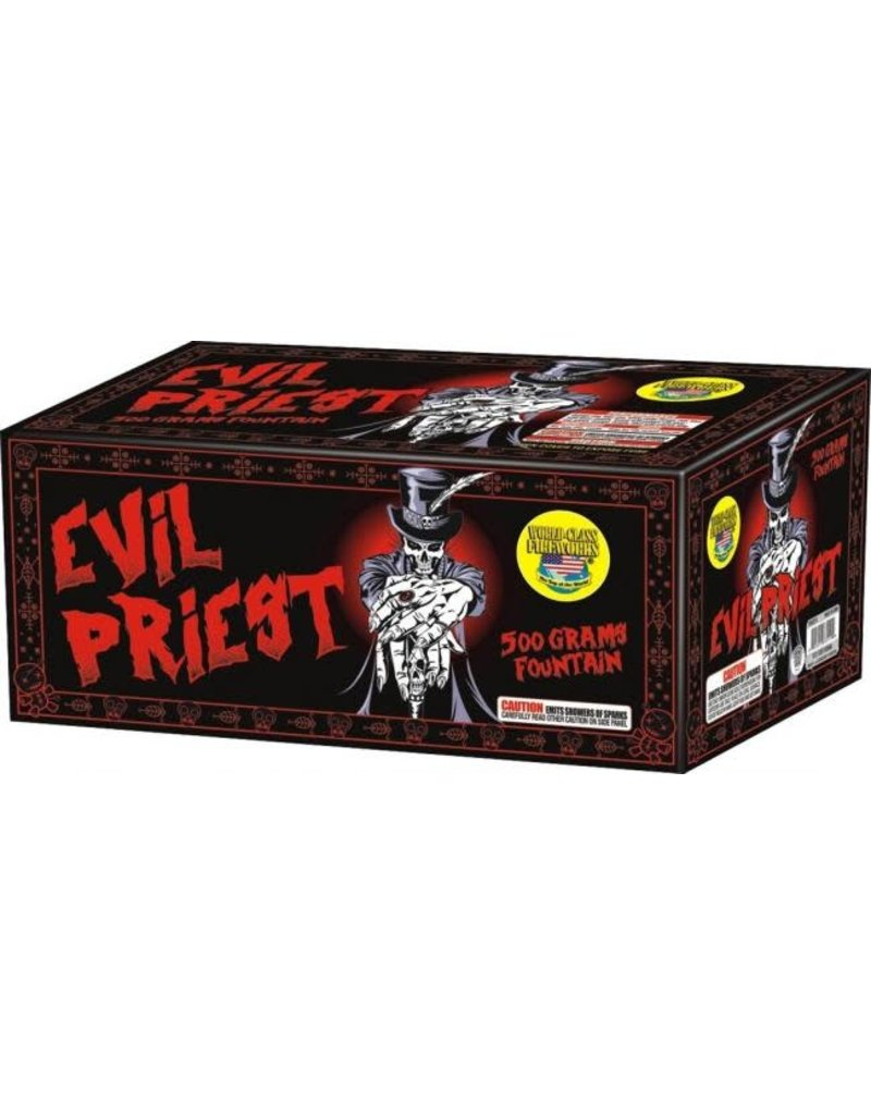 World Class Evil Priest Fountain - Case 4/1