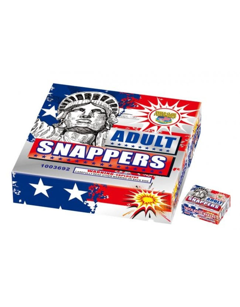 World Class Adult Snappers, WC - Pack 20/1