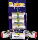 World Class Jumbo M-5000 Silver - Pack 3/1