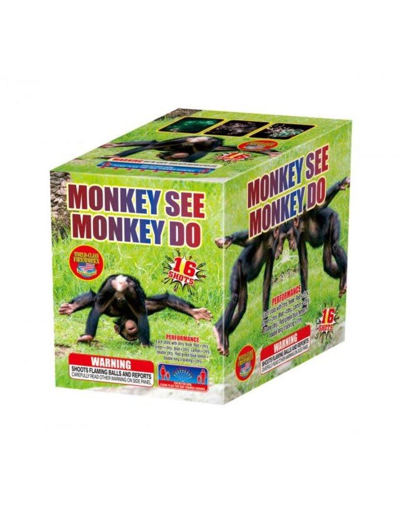 World Class Monkey See Monkey Do