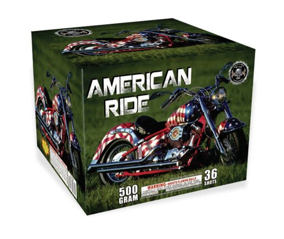 Cutting Edge American Ride - Case 4/1