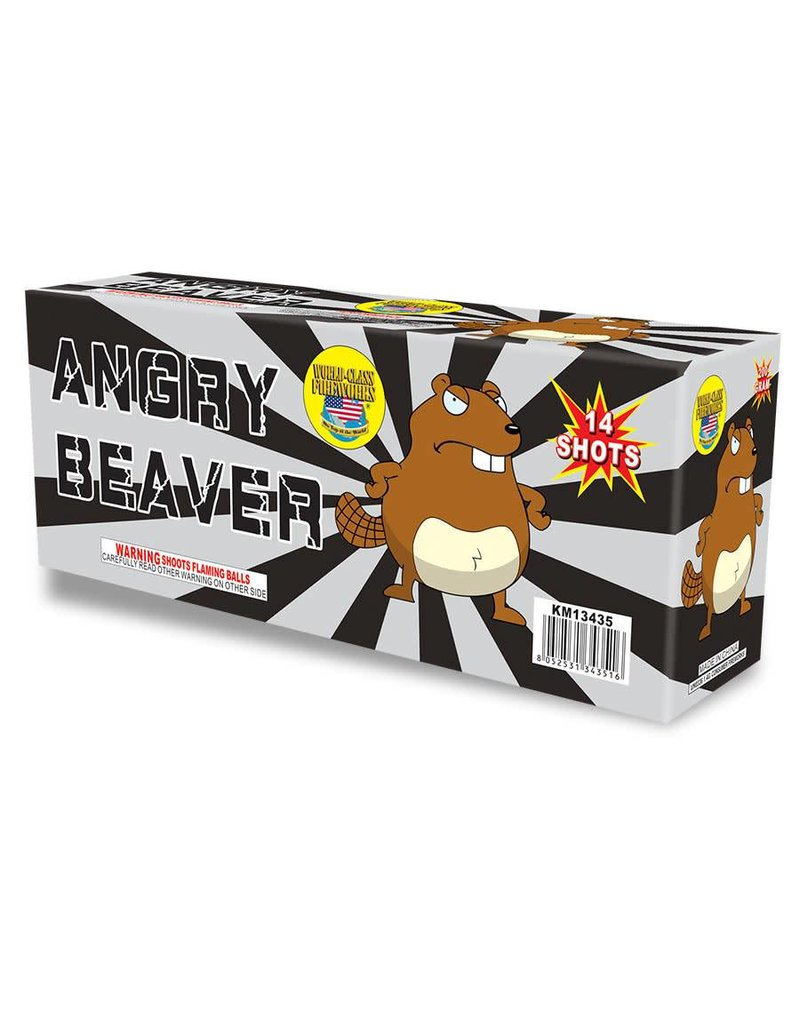 World Class Angry Beaver - Case 8/1