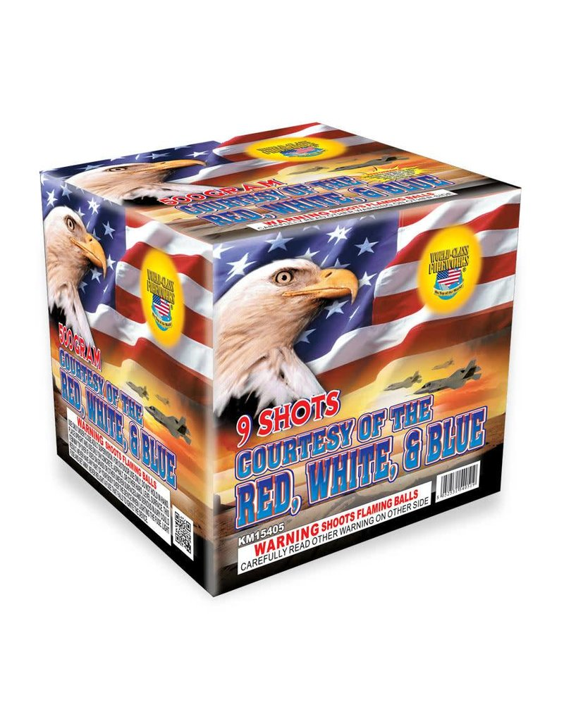 World Class Courtesy of the Red, White, & Blue - Case 6/1