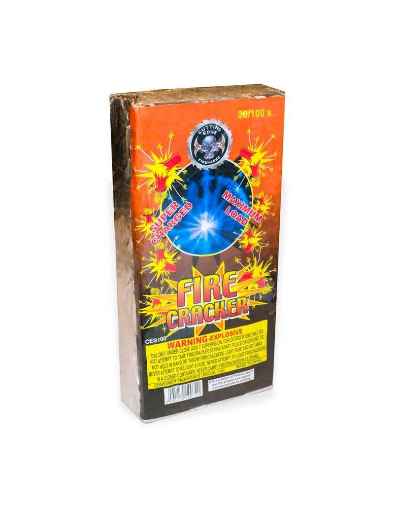 Cutting Edge Firecracker 100s, CE - Case 8/20/100