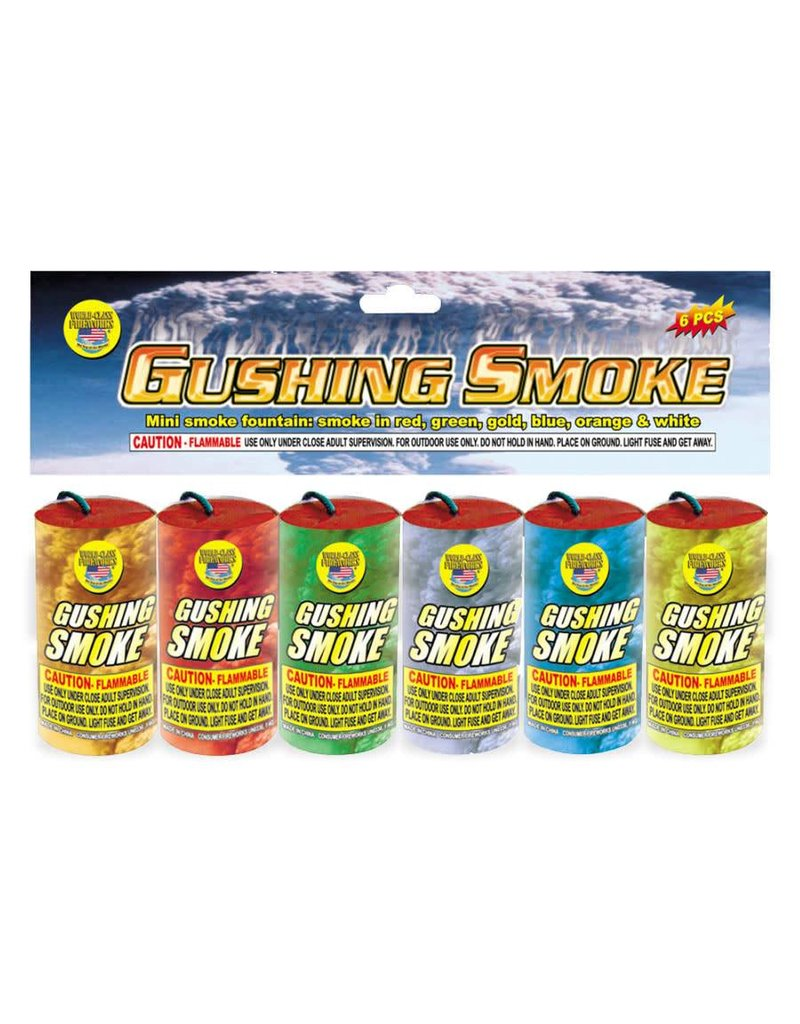 World Class Gushing Smoke - Case 24/6