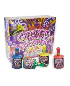 Party Poppers 72pcs