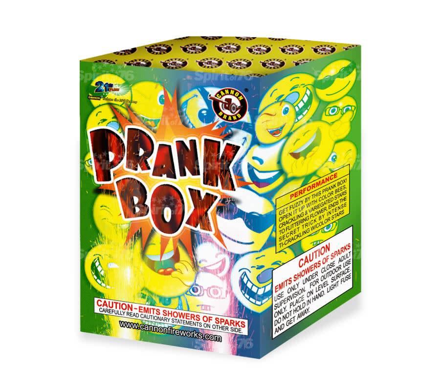 Cannon Prank Box